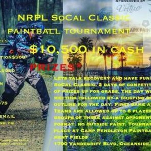 Nrpl Socal Classic Tournament The Paintball Park At Camp Pendleton